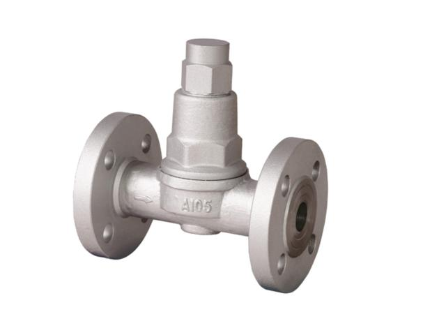 Adjustable Bimetal Strip Type Steam Trap